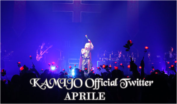 KAMIJO Official Twitter – Aprile 2015