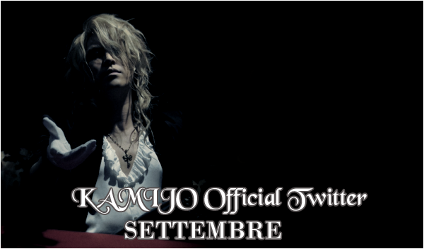 KAMIJO Official Twitter – Settembre 2015