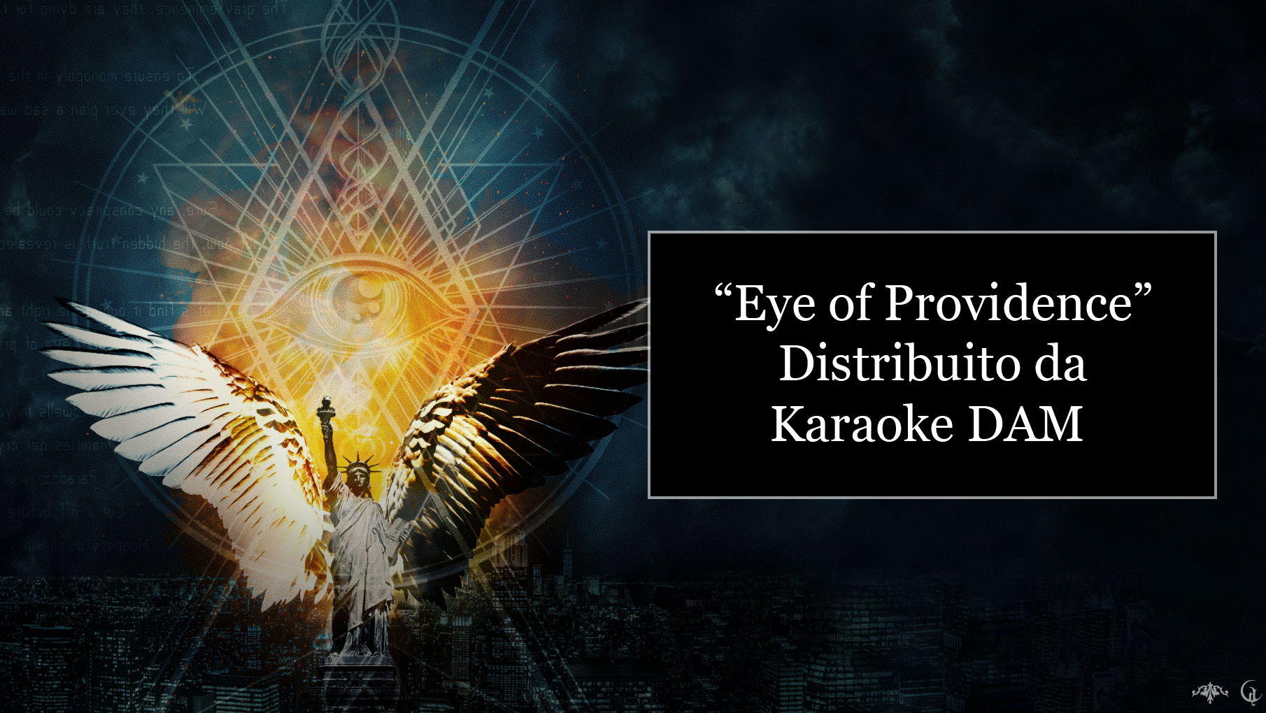 """EYE OF PROVIDENCE"", distribuito Karaoke"