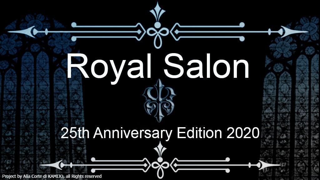 [Ita] ROYAL SALON, 25th Anniversary Edition